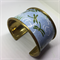 Bracelet Cuff - Dragonfly Fabric - FREE POSTAGE