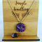 Necklace and Earring Set - Fireworks Voodoo
