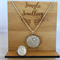 Necklace and Ring Set - Snow Angel