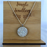 Glitter Pendant - Snow Angel