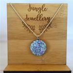 Glitter Pendant - Lilac Days