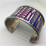 Bangle Cuff - Mexican Aztec  - FREE POSTAGE