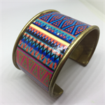 Bangle Cuff - Mexican Aztec/3  - FREE POSTAGE