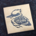 Australiana cushion cover - Kookaburra