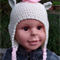 Unicorn, Pony, Brony hats, in blue, pink, purple or white. Hand made, crochet.
