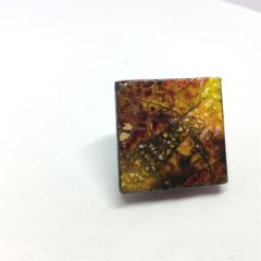 Autumn Tones Brooch - FREE POSTAGE