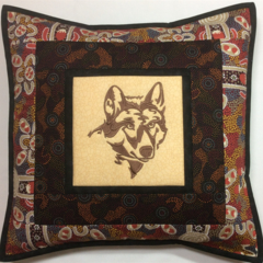 Australiana cushion cover - Dingo