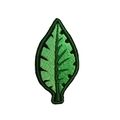Iron on Embroidered Patch Leaf patch