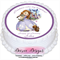 Princess Sofia The First Personalised Round Edible Cake Topper - PRE-CUT