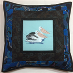 Australiana cushion cover - Pelican