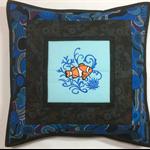 Australiana cushion cover - Clown Fish