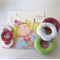 Child's Book, Pretend Play, Felt Food Donuts