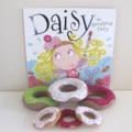 Child's Book, Pretend Play, Felt Food Donuts