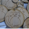 Handcrafted Cat Themed Key Ring