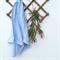 Baby blue swaddle wrap, muslin swaddle rug blanket