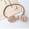 Baby headband, bow knot headband beige photo prop, newborn headband