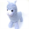 'Argyle' the Sock Alpaca - blue with pink and white flecks - *READY TO POST*