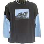 Moto Boys - Boy's Long Sleeve Tee
