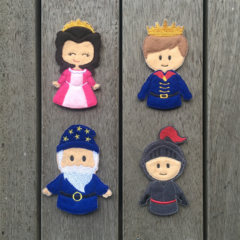 Kingdom Finger Puppet Set
