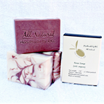 Rose Soap 3 x 120g per bar (in box)