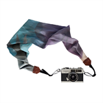 Silk Scarf Camera Strap – winter blossom, scarf, camera accessories, DSLR