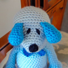 Dani Bear : crochet, safe, OOAK, washable, baby shower, boy