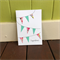 Congratulations Bunting Card, Washi Tape Card, Engagement Card, New Baby Card