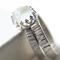 White Moonstone Engagement Ring & Sterling Silver Tree Bark Wedding Band