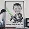 Custom kids portrait, Star Wars custom, Luke Skywalker, Custom portrait
