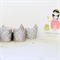 Mini Glitter tiara crown - Birthday Crown - Princess party crown party favour