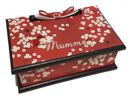 A Hint of the Orient Keepsake Trinket Treasure Jewellery Memory Wooden Box