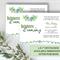 Printable Bachelorette Party Invitation | Desert & succulent invitation template