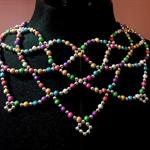 Multi Colour Collar Necklace