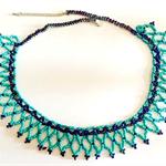 Pretty Aqua Necklace