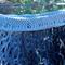 knitted skirt made from scarf yarn.  handmade original