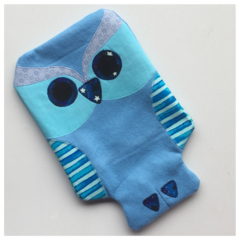 READY TO SHIP Owl Hot Water Bottle Cover
