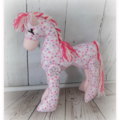 Horse Softie, plush horse doll, nursery décor, kids room, gift, toy horse