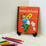 Animal Orchestra Storybook Journal, Visual Art Diary, Guestbook, Baby Keepsake