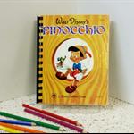 Puppet Story book Journal, Keepsake Diary, Visual Art Notebook, Guestbook