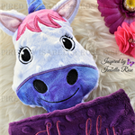 Minky Unicorn 'Ruggybud' - personalised, comforter, keepsake, lovey.
