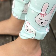 Bow baby girl leggings