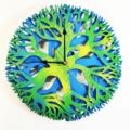 Tree Mandala Clock