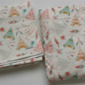 Custom Listing for Megan - Blanket and Fitted Cot Sheet