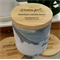 SOY CANISTER CANDLE 60+ hr burn time - Grey Marble