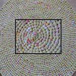 Rag Rug 1m diameter