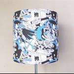 Batman Lampshade | Boy Room Decor | Super Hero Lamp Shade
