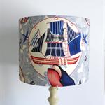 Nautical Lampshade | Lost at Sea Fabric LAMP SHADE