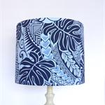Tapa Lampshade | Maori Polynesian Fabric Lamp Shade