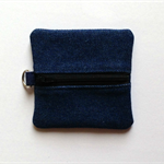 Small Upcycled Denim Pouch