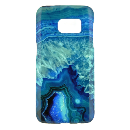 Blue Agate Design Phone Case - for iPhone & Samsung Galaxy phones